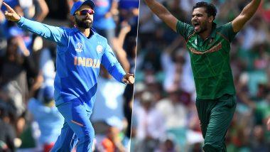 Virat Kohli and Mashrafe Mortaza Gunning for Semi-Final Spot With a Win in India vs Bangladesh ICC Cricket World Cup 2019 Match