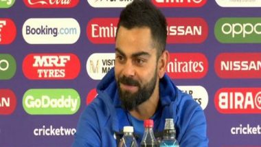 Virat Kohli Lauds MS Dhoni Ahead of IND vs NZ ICC CWC 2019 Semi-Final Clash, Says 'He Gives Me Space to Discover Myself'