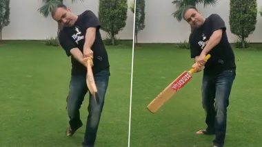Na If, Na but, Only Bhatabhat! Virender Sehwag Shares His Batting Funda on Instagram (Watch Video)