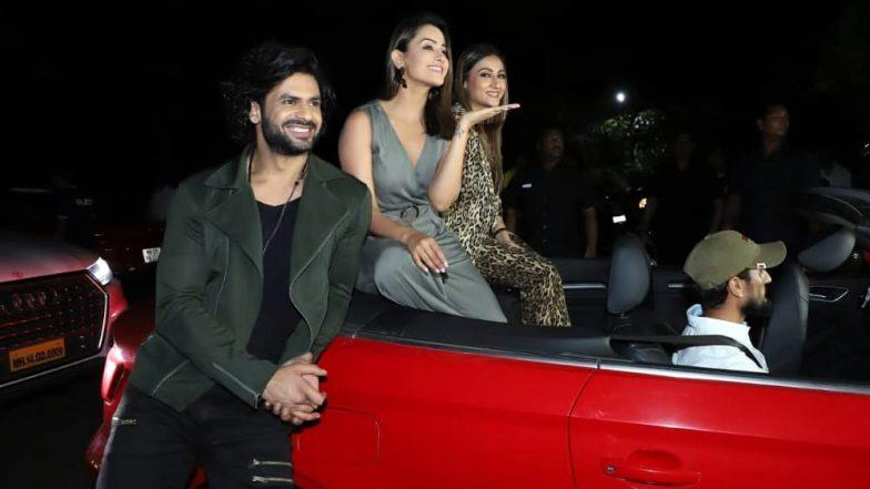 Nach Baliye 9: Anita Hassanandani, Urvashi Dholakia and Vishal Aditya Singh Kickstart the Promotions of Salman Khan's Show (Watch Video)