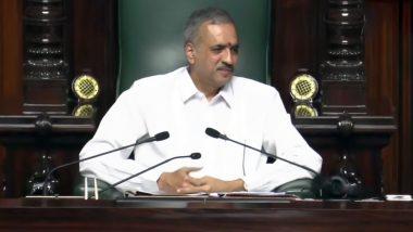 BJP MLA Vishweshwar Hegde Kageri Elected as Karnataka Assembly Speaker