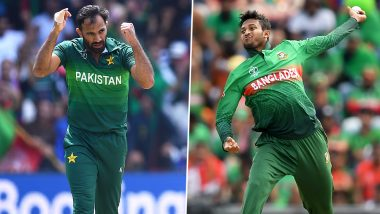 PAK vs BAN, ICC CWC 2019: Shakib Al Hasan, Wahab Riaz Reveal Mind-Set Before Battle at Lord's