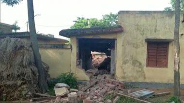West Bengal: Blast Rocks Panchayat Deputy Health Centre Building in Birbhum