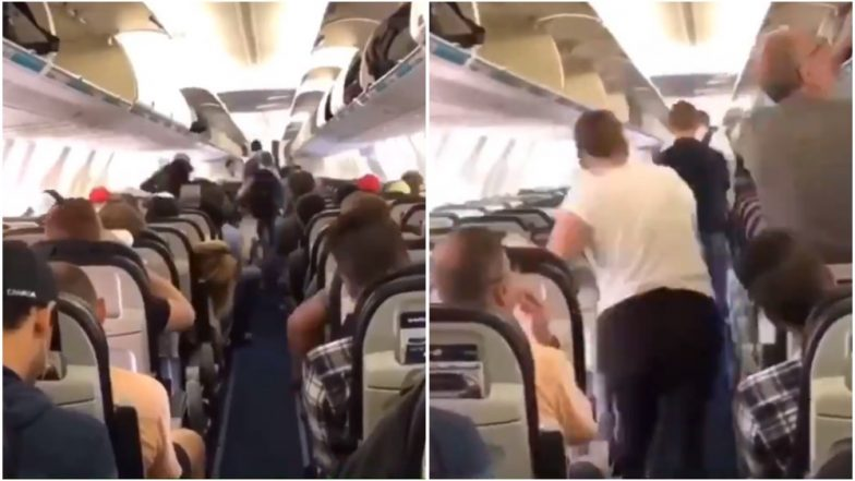 This Video of Passengers Alighting Canadian Flight WestJet Sets an Example on Deboarding Plane the Right Way
