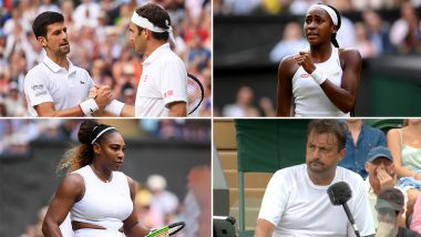 Wimbledon 2019 Videos: From Djokovic vs Federer Final to Cori Gauff's Emergence, Here Are Memorable Moments From The Grand Slam