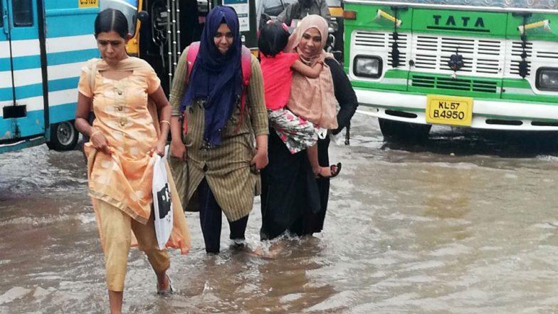 Kerala Rains: Red Alert Issued for Idukki, Malappuram, Kozhikode, Schools, Colleges in Malappuram to Remain Shut Today