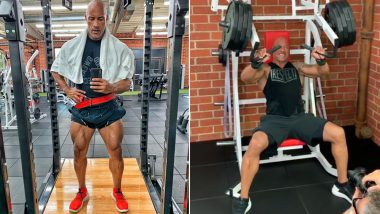 Dwayne 'The Rock' Johnson's Workout, Fitness and Diet Plan: How the Former WWE Wrestler Keeps in Shape (Watch Videos)