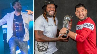 GT20 Canada 2019 Opening Ceremony: Yuvraj Singh, Chris Gayle Have A Gala Time Dancing (View Pics)