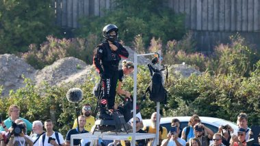 Watch Video: Flying Frenchman Fails to Cross Channel on Flyboard, Falls Into Sea