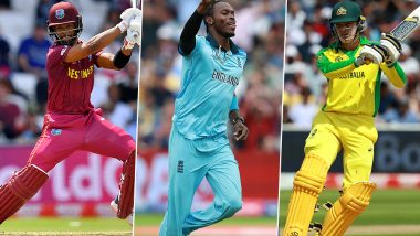 Emerging Players from CWC 2019 Who Can Shine Bright in ICC T20 World Cup 2020 – From Jofra Archer to Alex Carey, See List of Best Finds of 12th Edition of CWC