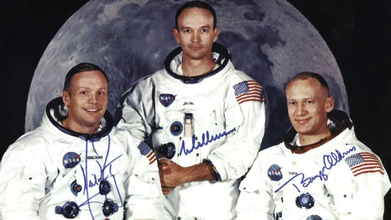 Apollo Mission 11 Crew Members Meet at Historic Launchpad After Fifty Years