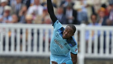 Jofra Archer to Take 2nd COVID-19 Test Before Joining England Camp