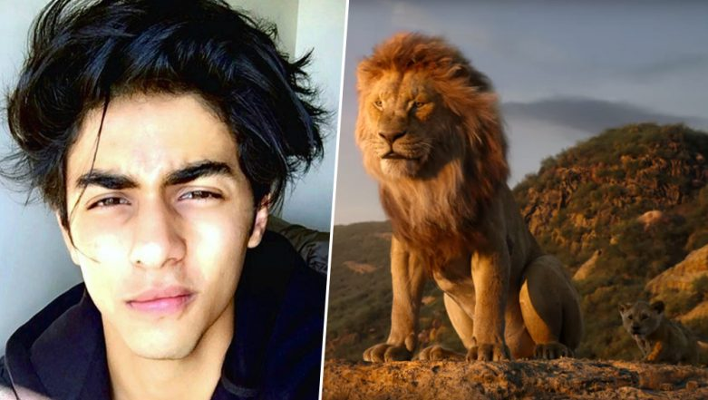 The Lion King Hindi Teaser: Aryan Khan's Amazing Voiceover as Simba Will Make You Say Like Father, Like Son (Watch Video)