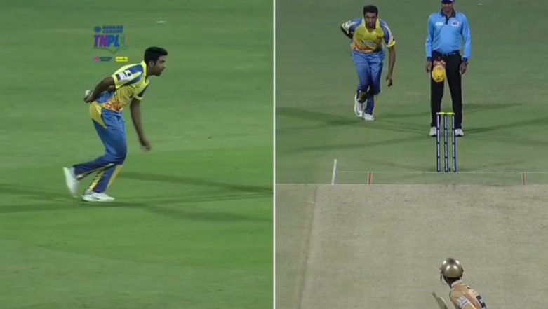 Ravichandran Ashwin Comes Up With Another Mystery Ball, Spinner Modifies His Bowling Action During TNPL 2019; Watch Video