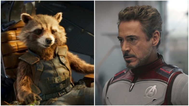 Avengers Endgame Blu-Ray Trailer: Tony Stark Tries to Shave Rocket's Fur in This Deleted Scene (Watch Video)