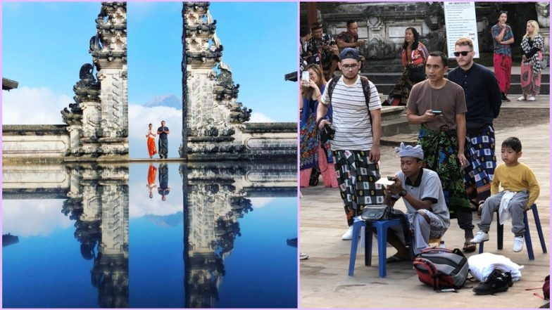Bali's Famous Tourist Spot 'Gates of Heaven' Is Not How It Looks on Instagram! Tweet Revealing the Truth Behind the Reflection Goes Viral