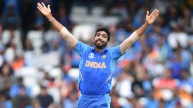 Jasprit Bumrah Becomes Second Fastest Indian to 100 Reach ODI Wickets, Achieves Feat During IND vs SL CWC 2019 Match