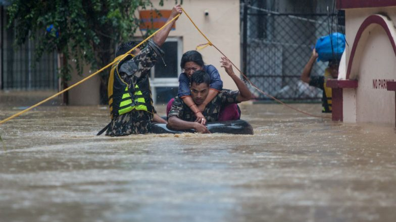 Nepal Floods: 50 Dead, Parts of Kathmandu Submerged Under Floodwaters After Heavy Rainfall