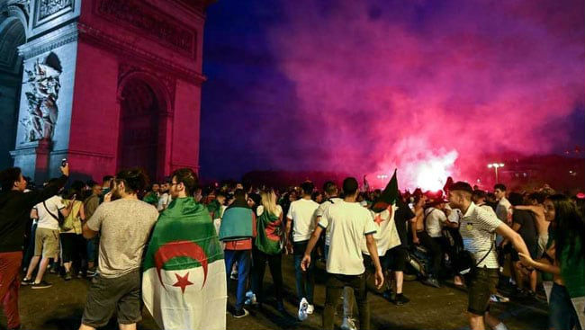 Africa Cup of Nations 2019: Shops Looted, Woman Dead in France Amid Algeria Football Win Celebrations
