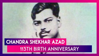 Chandra Shekhar Azad 113th Birth Anniversary: Lesser Known Facts About the Freedom Fighter