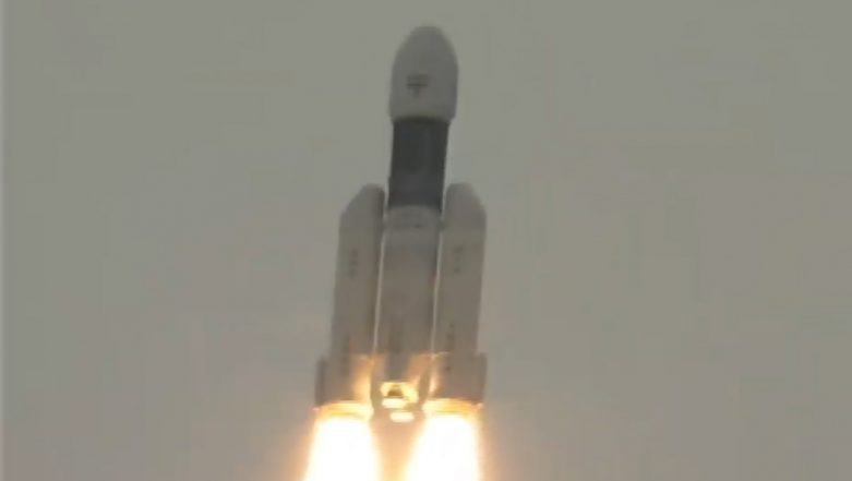 Chandrayaan 2 Launched Successfully; Nirmala Sitharaman, Milind Deora, Dharmendra Pradhan & Other Political Leaders Congratulate ISRO on India's Second Moon Mission