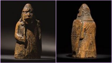 Ancient Lewis Chess Piece, 900-Year-Old, Bought for £5 Sold for £735,000 at Sotheby's Auction, View Pic of Viking Relic