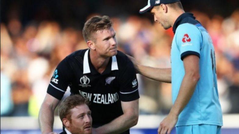 Chris Woakes Consoles Martin Guptill & James Neesham as England Beats New Zealand in CWC 2019 Finals (See Pic)