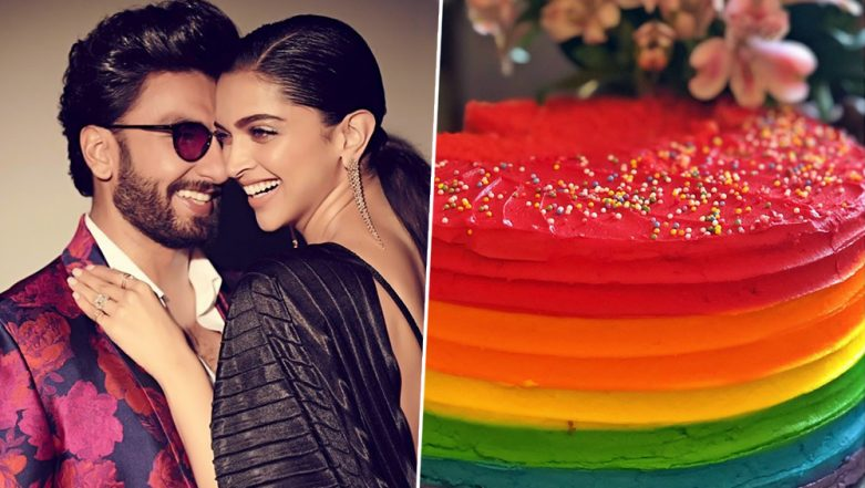 Deepika Padukone Shares a Picture of Ranveer Singh's Birthday Cake that's As Colourful as his Personality - View Pic