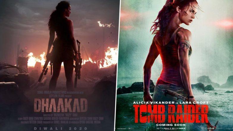 Dhaakad First Look: Kangana Ranaut's Avatar Reminds Us Of Alicia Vikander In Tomb Raider!