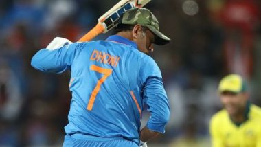 ICC World Test Championship 2019: With No MS Dhoni in Test Matches, Will India Use Jersey No 7?
