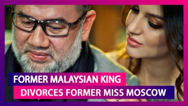 Malaysia's Former King Sultan Muhammad V Divorces Russian Ex-Beauty Queen Rihana Oxana Gorbatenko