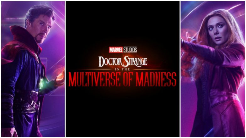 Doutor Estranho e Feiticeira Escarlate - Doctor Strange in the Multiverse of Madness