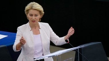 European Commission President Ursula von der Leyen Says EU is Ready to Discuss US Proposal For COVID-19 Vaccine Patent