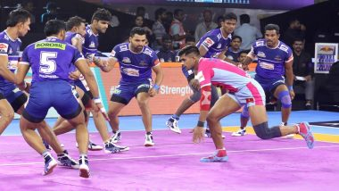 Pro Kabaddi League 2019: Jaipur Pink Panthers Script Impressive 37–21 Win Over Haryana Steelers