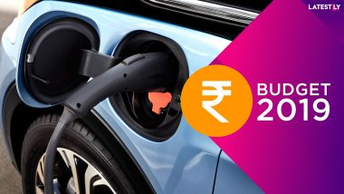 Budget 2019 for Electric Vehicles Buyers: Tax Rebate of Rs 1.5 Lakh PA Interest on Loan For EVs