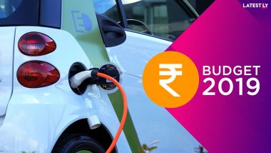 Union Budget 2019 Give Boost To Electric Vehicles: Government Announces Phase II of FAME Will Focus on EVs For Public Transport