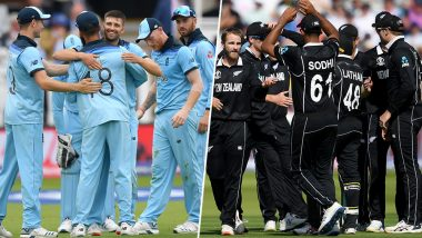ICC Cricket World Cup 2019: England and New Zealand Will Look to Seize Their World Cup Destiny Against Each Other