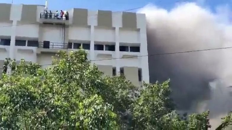 Mumbai: 20 Rescued From Burning MTNL Building in Bandra, Many More Trapped