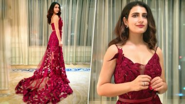 Cop or Drop: Fatima Sana Shaikh Picks a Red Neeta Lulla Gown