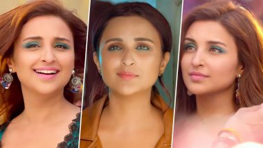 Parineeti Chopra's Gorgeous Teal Eyes in Jabariya Jodi Trailer Take Us Back to the Early 2000s; Here's How to Make Colourful Eyeshadows Look Wearable