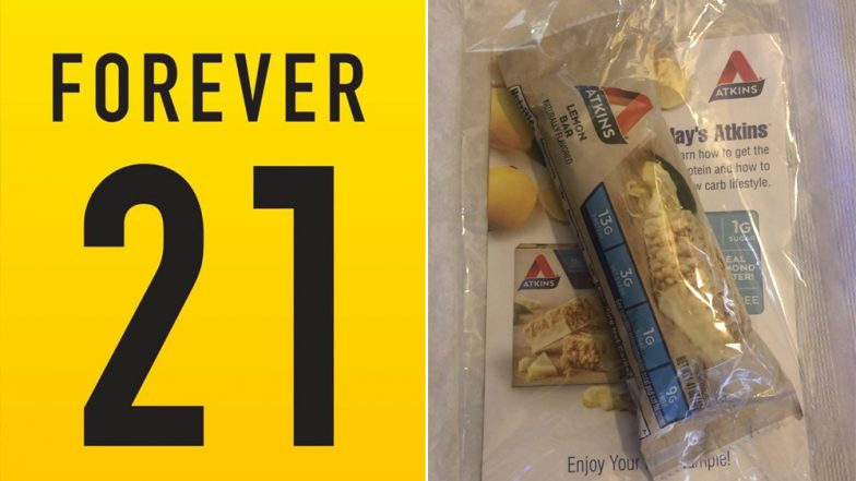 Forever 21 Sends Atkins Diet Bars With Plus-Size Orders, Issues Apology After Facing Flak for Body Shaming (Read Tweets)