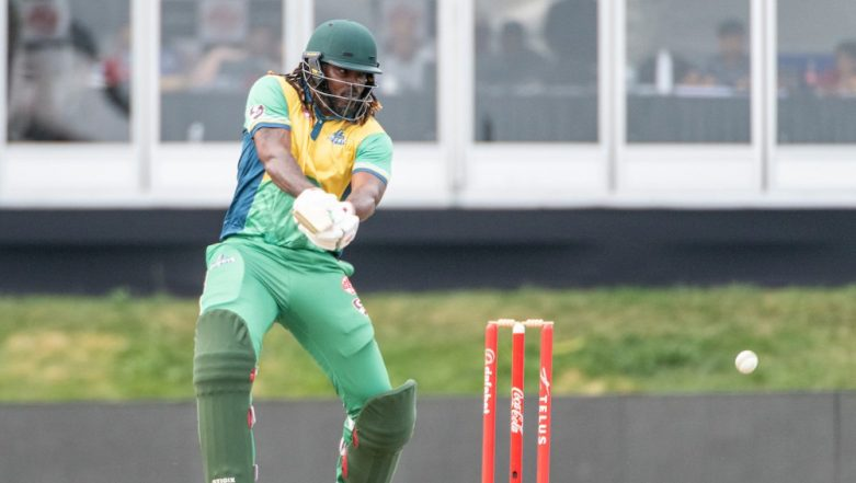 CPL 2019: Chris Gayle's 22nd T20 Hundred in Vain as St Kitts & Nevis Patriots Chase Down Huge Target Against Jamaica Tallawahs