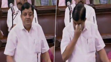 V Maitreyan Breaks Down During Farewell Speech in Rajya Sabha, Outgoing AIADMK MP Expresses Gratitude to Jayalalithaa; Watch Video
