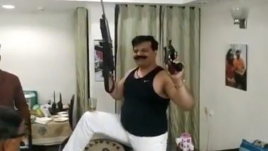 BJP MLA Pranav Singh Champion, Who Brandished Guns and Danced to Bollywood Songs, Calls it Conspiracy, Asks 'What's the Crime?'