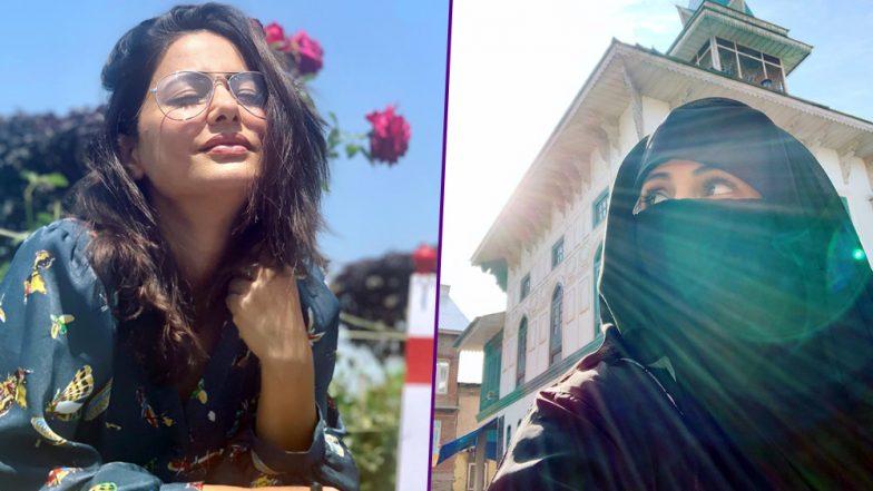 Hina Khan Walks to Three Srinagar Mosques Barefoot, Reminisces Childhood Memories!