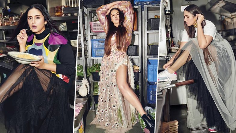 Posing with Marinated Chicken and Eating Spaghetti, Huma Qureshi Looks Deliciously Gorgeous in Her Recent Photo Shoot (View Pics)