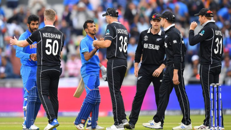 India vs New Zealand ICC CWC 2019 Semi-Final Stat Highlights: Ravindra Jadeja Heroics in Vain As Kiwis Knock IND Out of WC