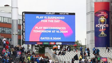 India Will Qualify for Final If Reserve Day of IND vs NZ CWC 2019 Semi-Final is Washed Out; Manchester Weather Holds Key