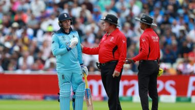 Umpires Kumar Dharamsena & Marais Erasmus Trolled for a Series of Bad Decisions During NZ vs ENG, CWC 2019 Final (Read Tweets)