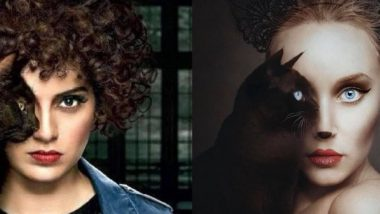 Kangana Ranaut's Judgementall Hai Kya Poster Accused of Plagiarism! Visual Artist Points Out Uncanny Similarity to Her Work (See Pic)